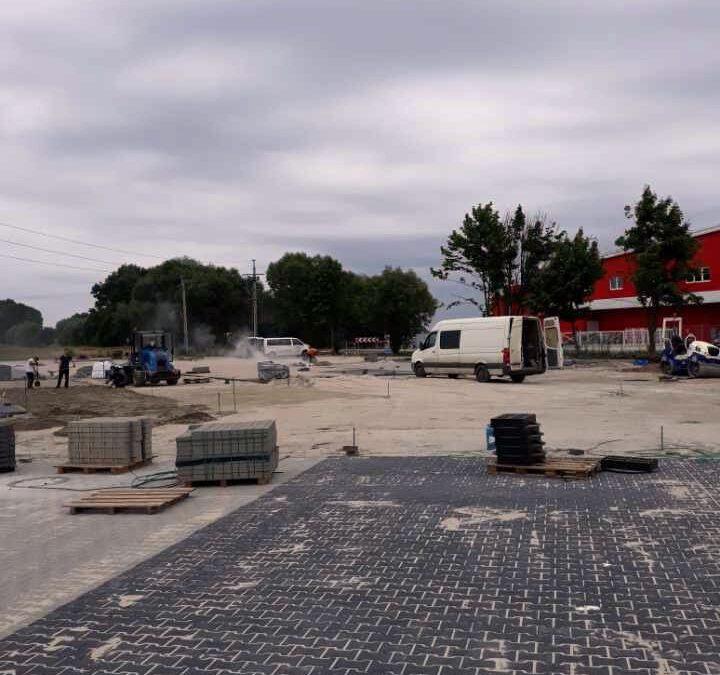 Oborniki – parking